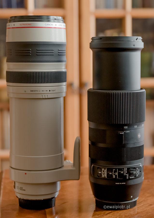 Sigma 100-400 kontra Canon 100-400 L