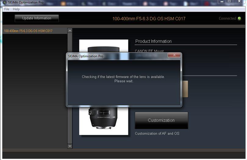 Sigma USB Dock - aktualizacja firmware'u