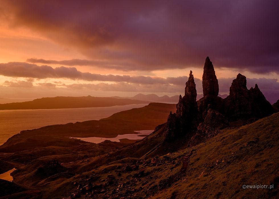 jesień w Szkocji