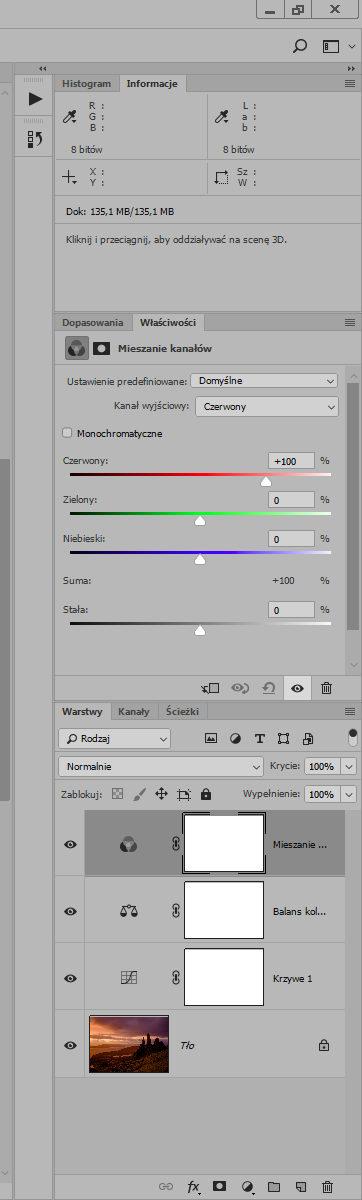 Jak ułożyć palety w Photoshopie