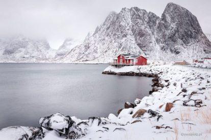 Lofoty zimą, jak bezpiecznie fotografować w zimie, poradnik