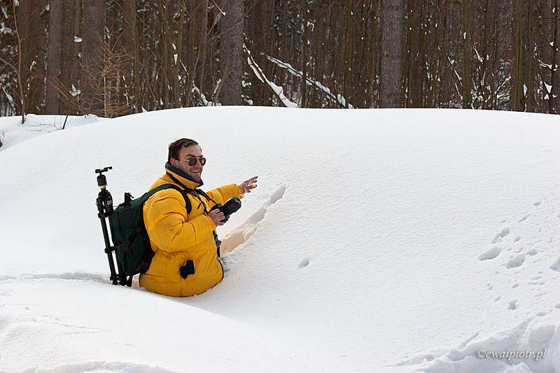 poradnik jak bezpiecznie fotografować w zimie