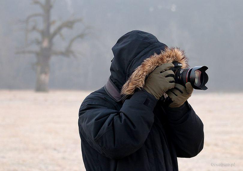 Jak się ubrać do fotografowania zimą, rękawiczki dla fotografa