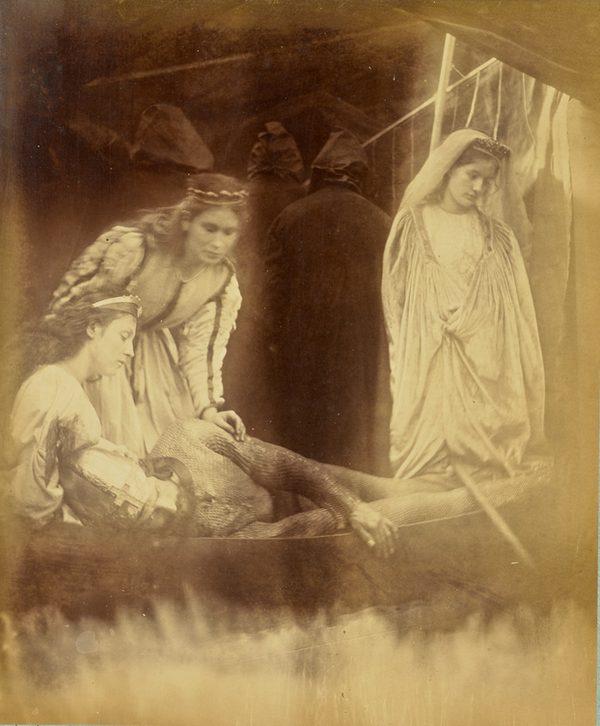 Julia Margaret Cameron - The passing of Arhur, piktorializm, granice fotografii, historia fotografii