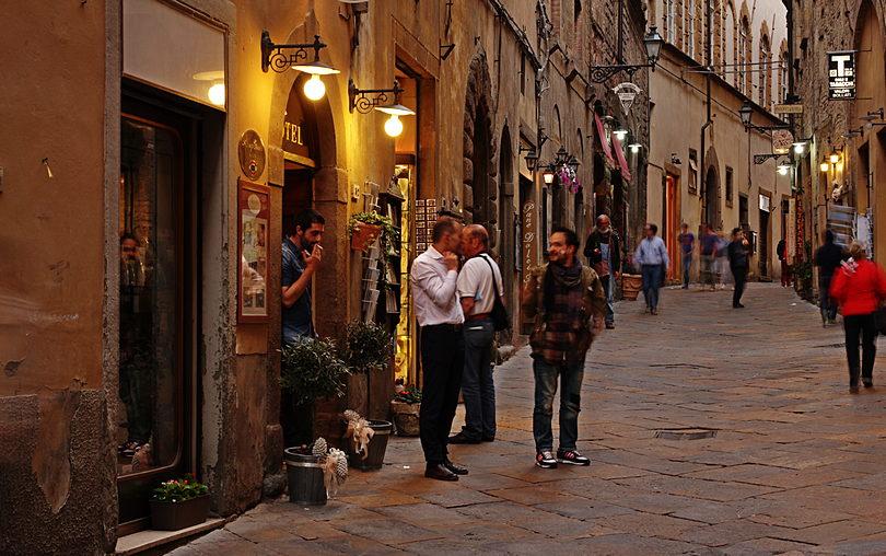 Volterra, Toskania, konstruktywna krytyka