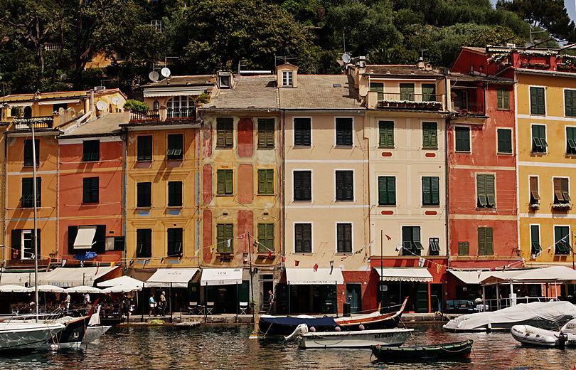 Portofino, jak dyskutować o zdjęciach