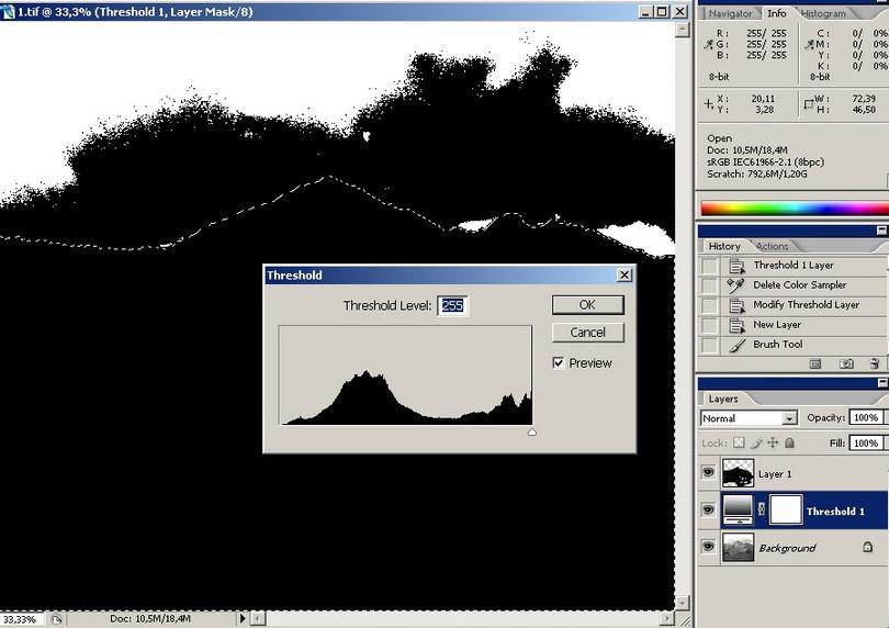 Fotografia w technice tonorozdzielczej - symulacja w PS