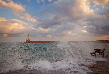 Port w Chani, Kreta, dyskusja o zdjęciach