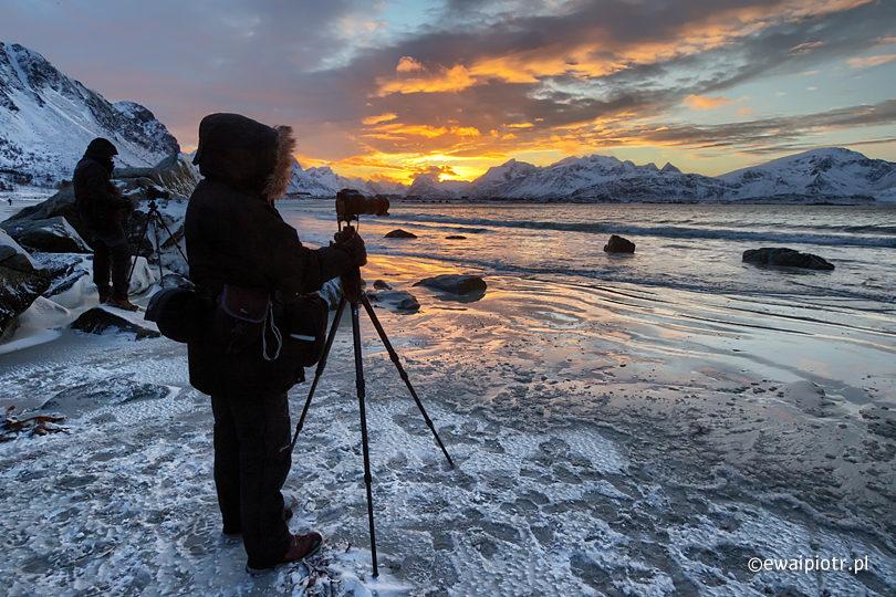 Jak ubrać się na zimowy plener, ubranie dla fotografa, fotografowanie w zimie
