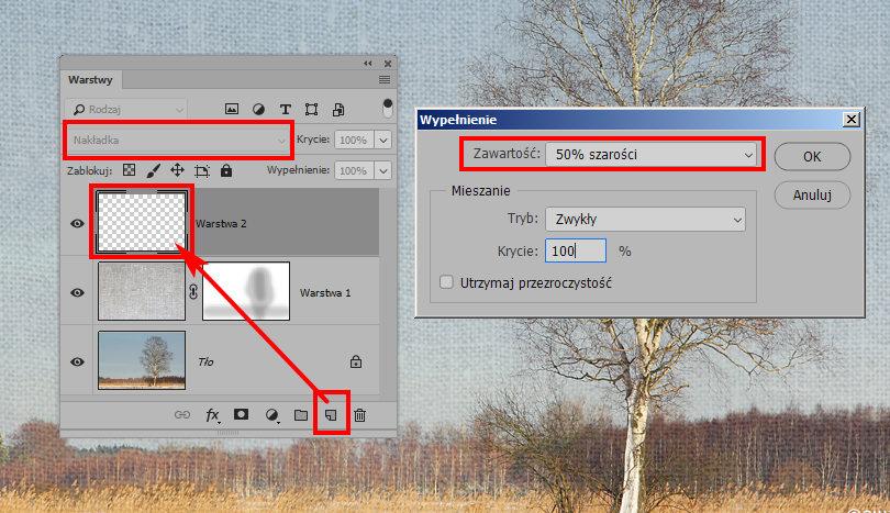 Jak nałożyć teksturę na zdjęcie