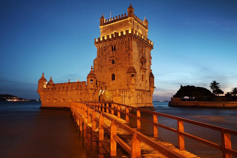 Niebieska godzina w Lizbonie
