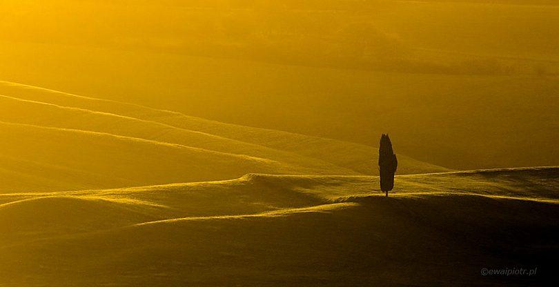 Złoty świt w Toskanii, jak długo trwa złota godzina