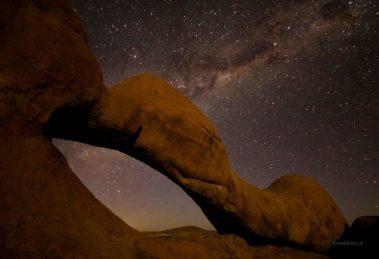 Niebo nad Namibią - tryb manualny ekspozycji, tryb M