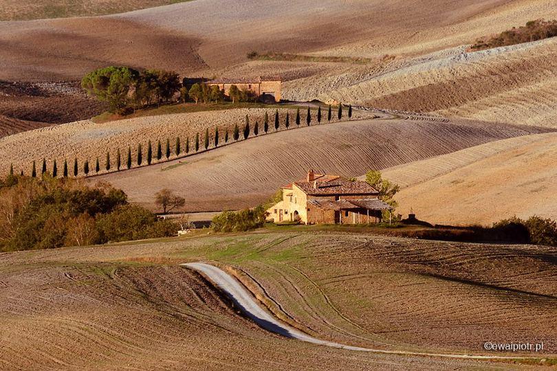 Toskania teleobiektywem, czym fotografować krajobraz Toskanii