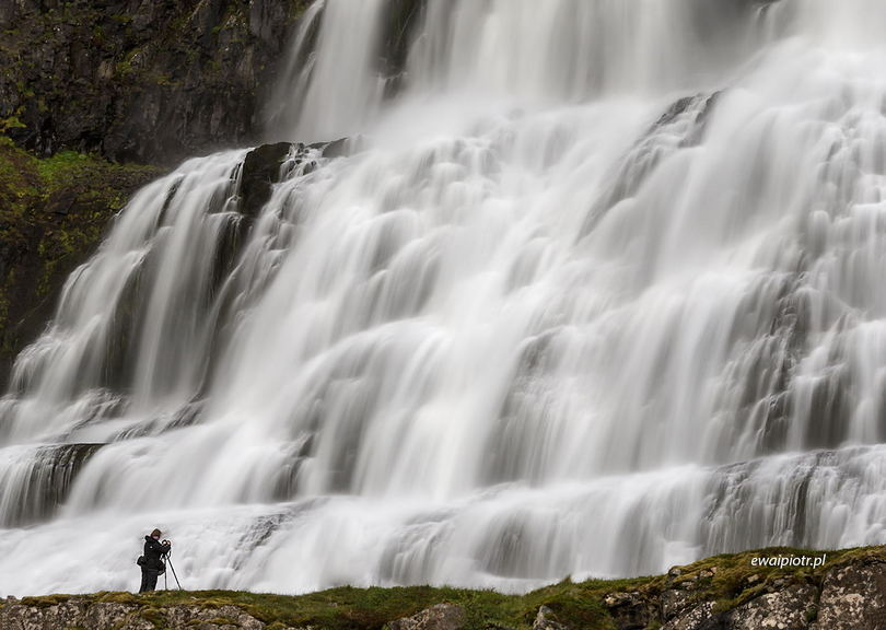 Dynjandi - wodospad na Islandii, poradnik fotografowania