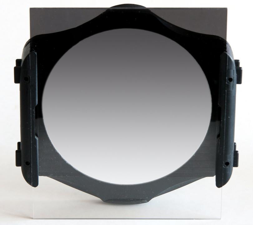 filtr połówkowy szary miękki w ramce