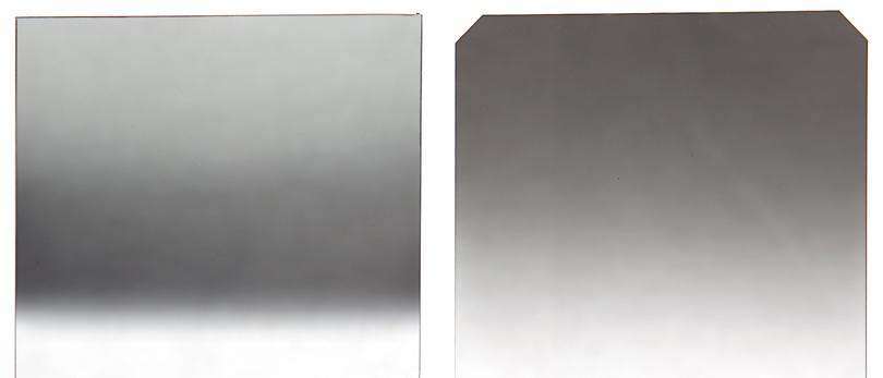 zabarwienie filtrów połówkowych szarych