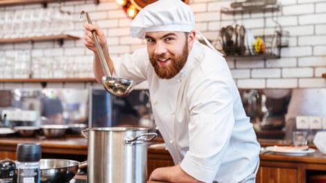 fotografia biznesowa kucharz,